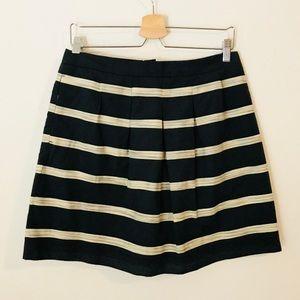 Loft ALine pleated skirt with pockets